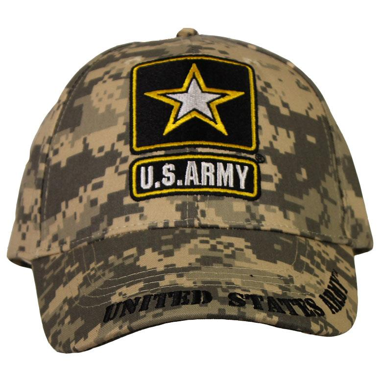 Army Ball Cap with Star Logo