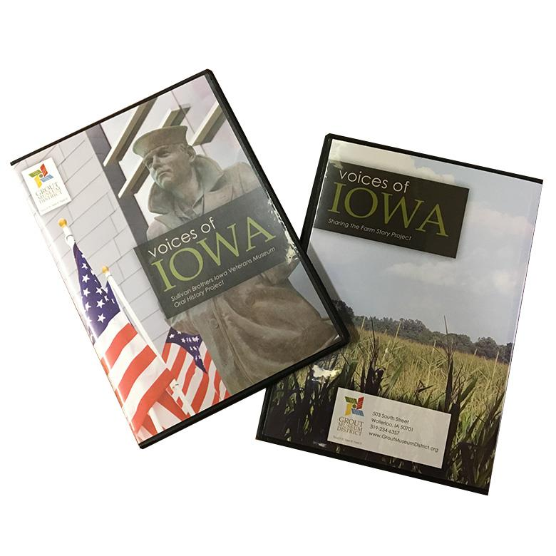 Voices of Iowa DVD