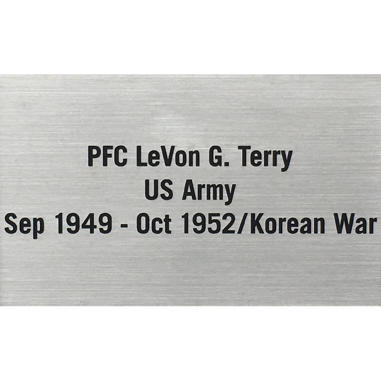 Veteran Memorial Plaque