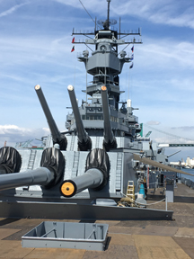 Grout's USS Iowa exhibit deepens state's bond with legendary