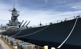 Grout's USS Iowa exhibit deepens state's bond with legendary battleship